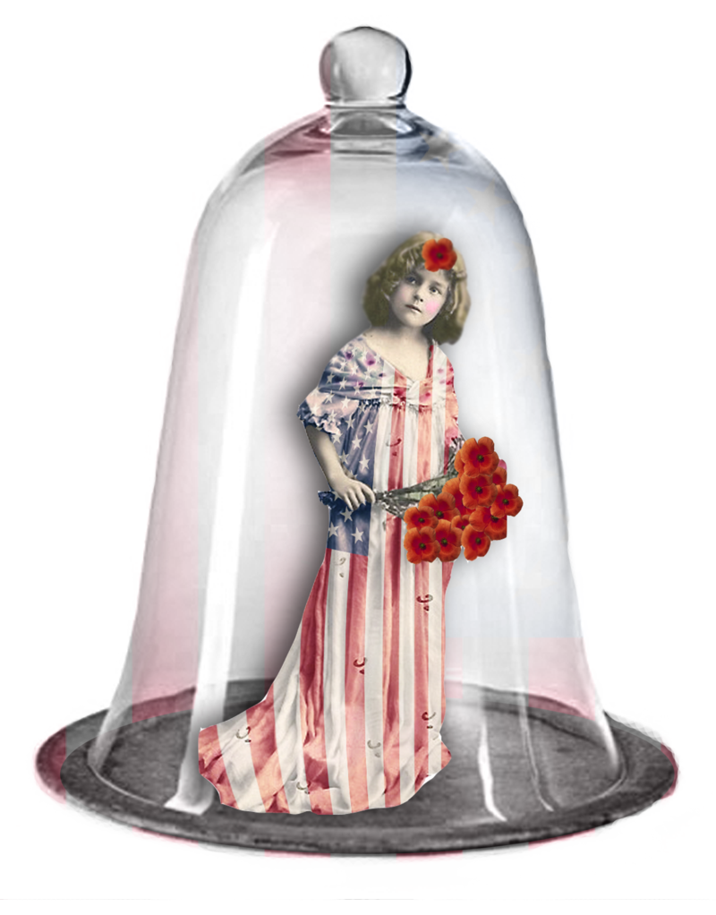 Girl-flagdress-transparentbackground