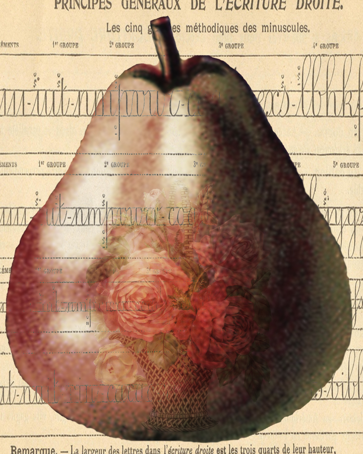 Pearwithflowers