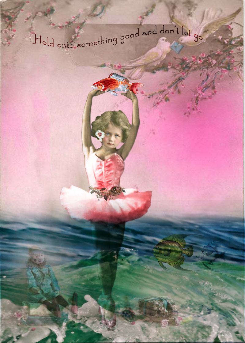 Ballerinapostcard