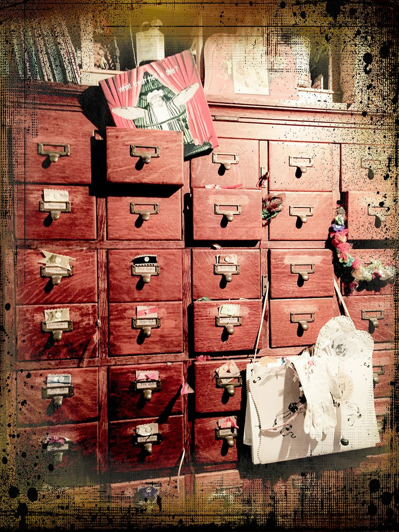 Library cabinet=studio