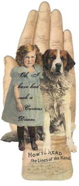 Girldoghandcard